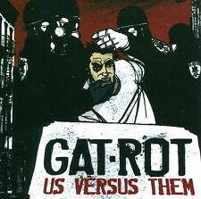 GAT-ROT Us Versus Them CD - Hardcore Tucson Arizona
