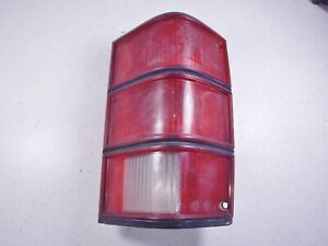 86-92 Jeep Comanche MJ Right RH Passenger Side Taillight Tail Light Lamp Lens #4