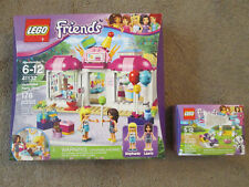LEGO Friends 41132 Heartlake Party Shop & 41304 Puppy Treats & Tricks NEW!!!