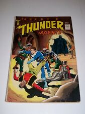 T.H.U.N.D.E.R. Thunder Agents #4 VG/F 1966 Tower Comics