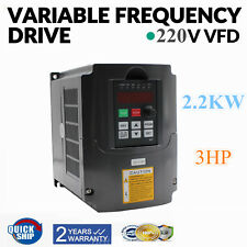 220V 2.2KW 10A 3HP Variabile Frequenza Drive Inverter VFD Monofase a 3 Trifase