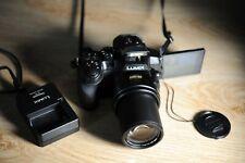 Panasonic LUMIX DMC-FZ300 DIGITAL Camera Leica DC 24X F2.8 Zoom 4K Video AS NEW!
