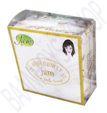 x1p. Jam Rice Milk Soap Thai Herbal Soap Whitening Herbal Soap 60 grams.