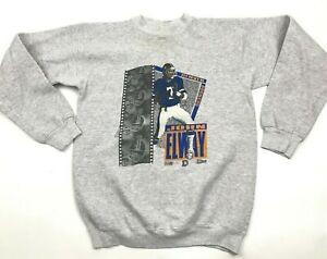 VINTAGE John Elway Denver Broncos Sweater Youth Size 18 - 20 Sweatshirt 1991 USA