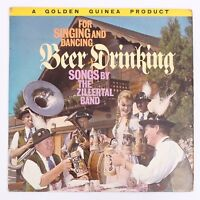 """German Beer Drinking Songs By The Zillertal Band - 12"""" Vinyl Record [GGL 0182]"""