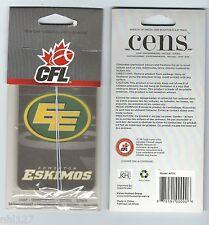 CFL Football Edmonton Eskimos Car Truck SUV Air Freshener