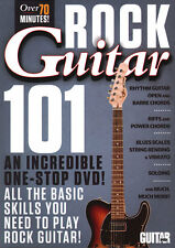 Guitar World Basic Skills to Play ROCK GUITAR 101 Video DVD Lessons ANDY ALEDORT
