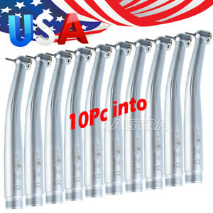 10Pc Dental NSK style Pana Max Standard Push button High Speed Handpiece 2 Hole