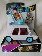 Teen Titans Go T-Car Toy Vehicle & Cyborg Figure Mattel