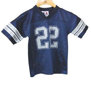 VINTAGE Emmitt Smith Dallas Cowboys Youth Jersey Large 7 Logo Athletic NFL