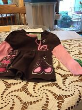 Shirt For Toddler Girl, Size 2t, Peanut And Ollie Brand