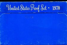 1970-S US Proof Mint Set 5 Coins Silver & CLAD 20rhu0721 $2 Shipping
