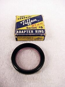 49mm Tiffen Series 6 Adapter Ring | Made in Japan | $5.95 | from USA |