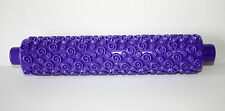 Rolling Pin PURPLE Pattern Embossing, Sugarcraft, Cake Decorating, Baking