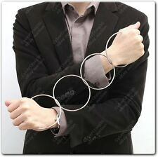 4 CHINESE LINKING RINGS CLASSIC MAGIC METAL RING LINK TRICK STAGE OR CLOSE UP