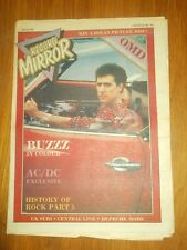 RECORD MIRROR FEBRUARY 20 1982 MARC BOLAN BUZZZ AC/DC UK SUBS STATUS QUO SKIDS