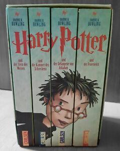 Harry Potter Bücher Limitierte Sonderausgabe Band 1-4 Tasse Schmuckpappenmotiv
