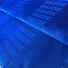 Blue 3mX1.6m Auto Bride Fabric Racing Car Seat Cover Cloth Decoration Material