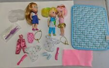 Vintage WISH WORLD KIDS  Dolls clothes Accessories 1987 88 lot huge! Pink hair