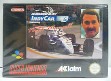 NEWMAN HAAS INDY CAR FEATURING NIGEL MANSELL - SNES SUPER NINTENDO PAL BOXED
