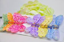 12 3D Colorful Artificial Butterflies Crafts Wedding Party Floral Decoration 3