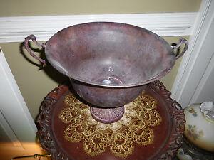 Fancy Metal Urn Pot Kettle
