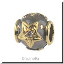 Authentic Trollbeads 18K Gold 31809 Stars, Gold & Diamond :1