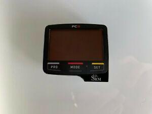 SRM PowerControl 8 (PC8) Bike Computer Black w/ Charging Cable