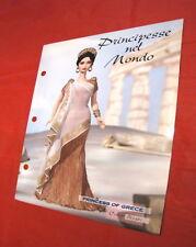 Barbie B Collector 2004 Paper Princess of Grece B3461 Princess Cambodia B3460