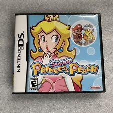 Super Princess Peach (Nintendo DS, 2006) Authentic Complete In Box CIB