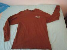 New listing Vintage 80s 90s Yaga long sleeve brown Tshirt Size Xl