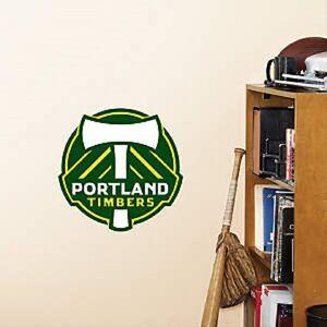 "Portland Timbers  LOGO 12""x11"" Fatheads Wall Decal Free Shipping"