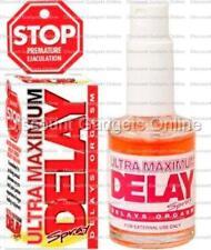 STOP Ultra Maximum Delay Spray Penis Numbing Power + CONTROL Men BETTER STAMINA