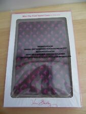 Vera Bradley Mini Flip-Fold Tablet Case For iPad Mini in Plum Studs, New in Box
