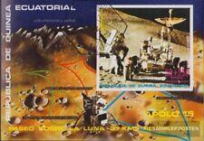 Equatoriaal-Guinea Blok 2 (compleet.Kwestie.) gestempeld 1972 Apollo 15