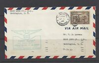 Canada First Flight Cover: Montreal to Albany