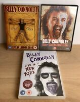 Billy Connolly: Live in New York (DVD) Bundle Of 3 DVDS