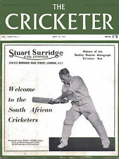 The Cricketer Magazine Vol. XXXII No. 2 May 12 1951