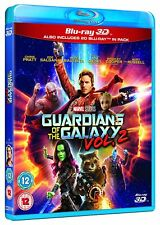 GUARDIANS OF THE GALAXY VOL. 2 3D [Blu-ray 3D + 2D] Marvel Volume Two Movie