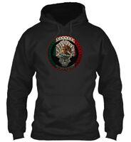Cool Mexico Mexican Flag Gildan Hoodie Sweatshirt