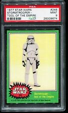 1977 Topps Star Wars Green Series 4 #246 STORMTROOPER-TOOL OF THE... PSA 9 MINT