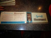 Ancien Catalogue Ancienne Rosengart Super 5 LR