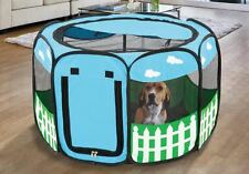 Portable Small Pet  Playpen Puppy Tent Dog Cat Exercise Kennel  Popup In-Outdoor