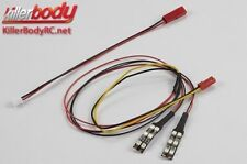 Killerbody Lichtset - Scale- LED -Unterbogen mit SMD LED Set - 12x Rot LEDs 1:10