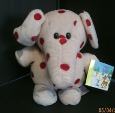 CVS PINK SPOTTED ELEPHANT 12 INCH WITH BOOK AND TAG ISLAND OF MISFIT TOYS