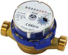 """High Quality Water Meter Flow Cold Water 1/2"""" 3/4"""" BSP Meters 1,6/4,0 m3/h"""