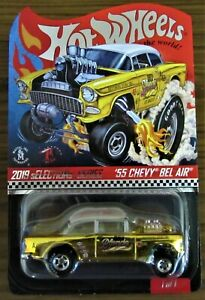Hot Wheels RLC Selections 55 Chevy Bel Air Gasser, Real Riders,