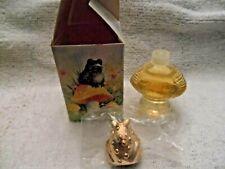 Vintage Avon Fairytale Frog Sweet Honesty Cologne 1 Fl Oz In Box