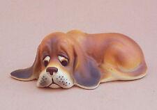 basset hound porzellanfigur porzellan figur hund hundefigur 2223