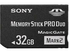New Memory Stick MS-MT32GB MS PRO-HG Duo HX Mark2 32GB Card For SONY PSP Camera